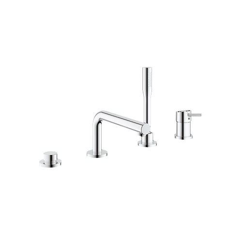 Grohe 19576 001 Concetto 4 Hole Single Lever Roman Tub Combination - Chrome