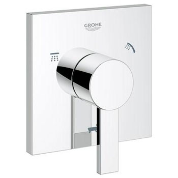 Grohe 19 591 000 Allure 5-Port Diverter - Starlight Chrome