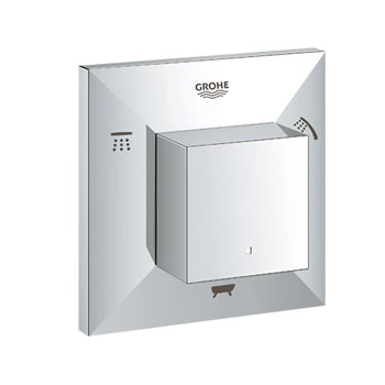 Grohe 19799 000 Allure Brilliant 5 Way Diverter - Chrome