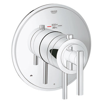 Grohe 19849000 GrohFlex Timeless Dual Function Thermostatic Trim with Control Module - Chrome