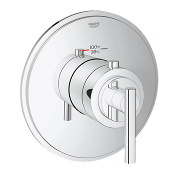 Grohe 19865000 GrohFlex Timeless Custom Shower Thermostatic Trim with Control Module - Chrome