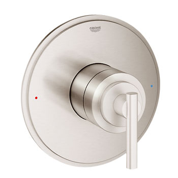 Grohe 19866EN0 GrohFlex Timeless Single Function Pressure Balance Trim with Control Module - Brushed Nickel