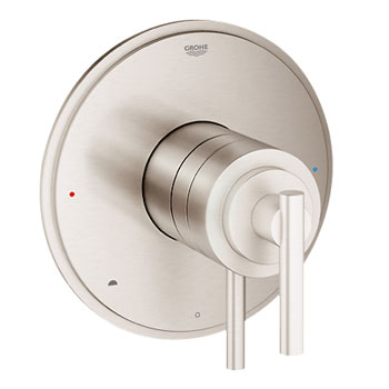 Grohe 19867EN0 GrohFlex Timeless Dual Function Pressure Balance Trim with Control Module - Brushed Nickel