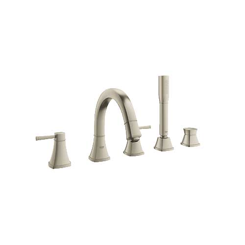 Grohe 19919EN0 Grandera Roman Tub Filler with Personal Hand Shower - Brushed Nickel