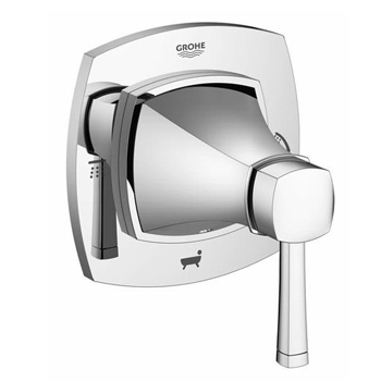Grohe 19942000 Single Handle 5 Port Diverter Trim - Chrome