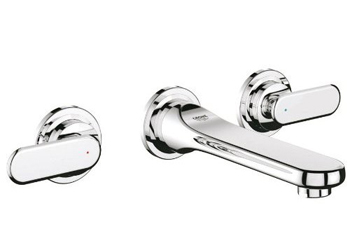 Grohe 20.183.000 Veris Wall-Mount Vessel Faucet Trim - Starlight Chrome