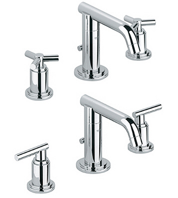Grohe 20.072.000 Atrio Low Spout Wideset Lavatory Faucet - Chrome ...
