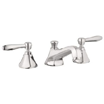 Grohe 20.133.EN0 Somerset Wideset Lavatory Faucet - Infinity Brushed Nickel (Pictured w/Handles  Not Included)