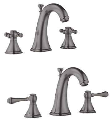 Grohe 20.801.ZB0 Geneva Lavatory Widespread Faucet - Oil Rubbed Bronze (Pictured w/Handles -- Not Included)