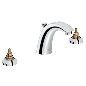 Grohe 20 121 001 Arden Lavatory Wideset Faucet - Chrome