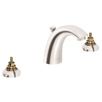 Grohe 20 121 EN1 Arden Lavatory Wideset Faucet - Brushed Nickel