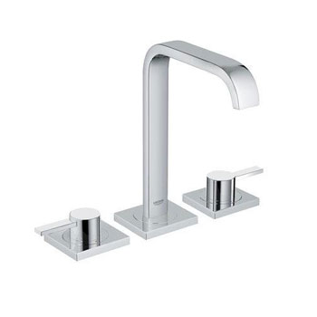 Grohe 20 191 000 Allure Widespread Lavatory Faucet - Starlight Chrome