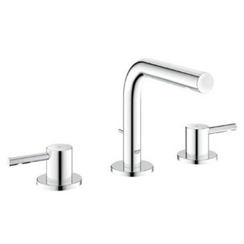 Grohe 20297.EN0 Essence Widespead Lavatory Faucet - Brushed Nickel (Pictured in Chrome)