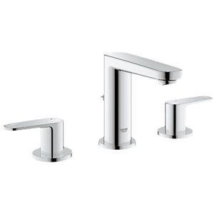 Grohe 20302000 Europlus Widespread Lavatory Faucet - Starlight Chrome