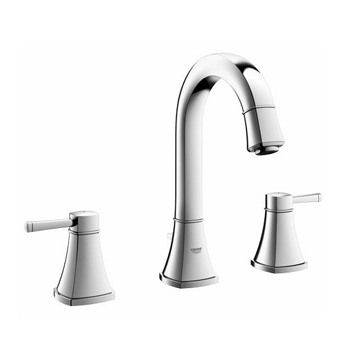 Grohe 20419000 Grandera High Spout Two Handle Widespread Lavatory Faucet - Chrome