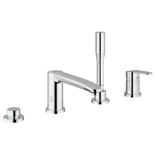 Grohe 23048002 Eurostyle Cosmopolitan Roman Tub Filler with Personal Hand Shower - Chrome