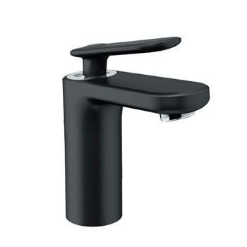 Grohe 23 066 KS0 Veris Single Hole Centerset Lavatory Faucet - Velvet Black
