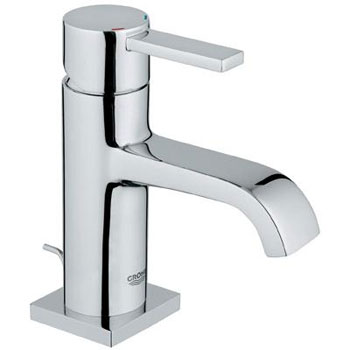 Grohe 23 077 000 Allure Single Hole Faucet - Starlight Chrome