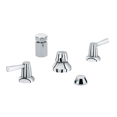 Grohe 24.015.EN0 Arden Wideset Bidet Faucet - Brushed Nickel (Pictured in Chrome)