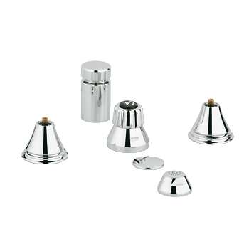 Grohe 24.019.000 Geneva Wideset Bidet Faucet - Chrome