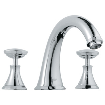 Grohe 25.074.000 Kensington Roman Tub Filler - Chrome (Pictured w/Handles  Not Included)
