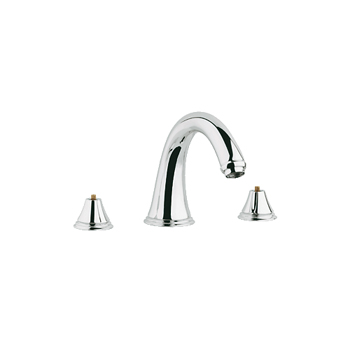 Grohe 25.054.000 Geneva Roman Tub Filler - Chrome