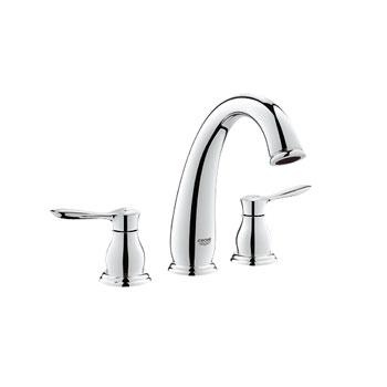 Grohe 25152 000 Parkfield 3 Hole Roman Tub Faucet - Chrome