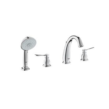 Grohe 25153 000 Parkfield 4 Hole Roman Tub Faucet - Chrome