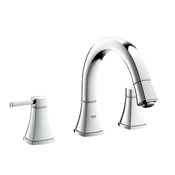 Grohe 25154000 Grandera Two Handle Roman Tub Faucet - Chrome