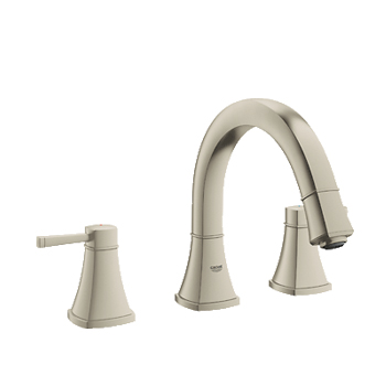 Grohe 25154EN0 Grandera Two Handle Roman Tub Faucet - Brushed Nickel