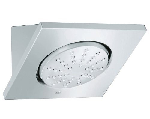 Grohe 27.254.000 Rainshower F F5 Shower Head with Integrated Mounting Connection - Starlight Chrome