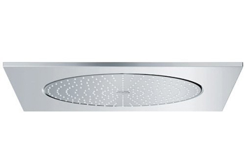 grohe rain shower f f20 ceiling shower head starlight chrome