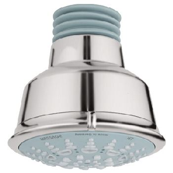 Grohe 27.126.EN0 Relexa Rustic Shower Head 5 - Infinity Brushed Nickel