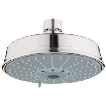 Grohe 27.130.EN0 Rain Shower Rustic Shower Head - Infinity Brushed Nickel