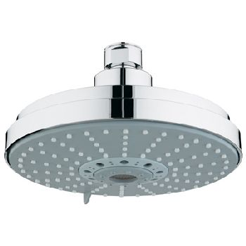 grohe rain shower shower head chrome. Black Bedroom Furniture Sets. Home Design Ideas