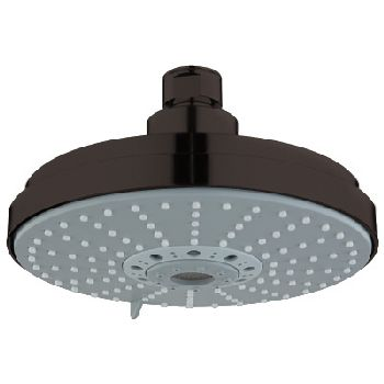 grohe 27135zb0 rain shower shower head oil rubbed bronze - Grohe Shower Head