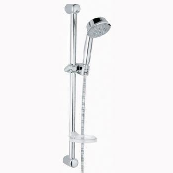 grohe relexa rustic shower set 5 chrome. Black Bedroom Furniture Sets. Home Design Ideas