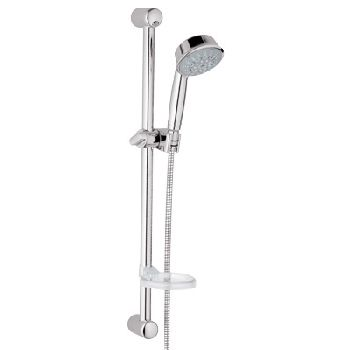 Grohe 27.142.BE0 Relexa Rustic Shower Set 5 - Sterling Infinity Finish