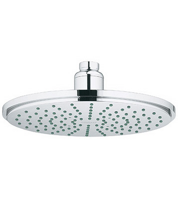 grohe rain shower shower head chrome