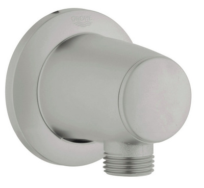 Grohe 28.459.AV0 Movario Wall Union - Infinity Satin Nickel