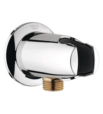 Grohe 28.484.000 Movario Wall Union with Hand Shower Holder - Chrome