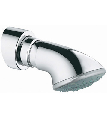 Grohe 28.521.000 Movario 5 Spray Showerhead with Integrated Shower Arm - Chrome