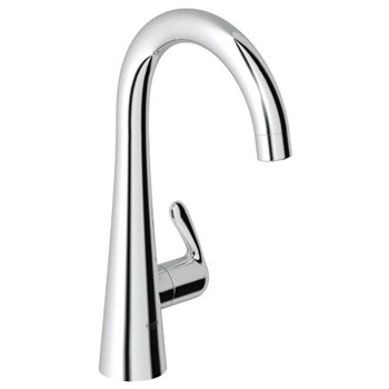 Grohe 30.026.000 Ladylux3 Basin/Pillar Tap Faucet - Starlight Chrome