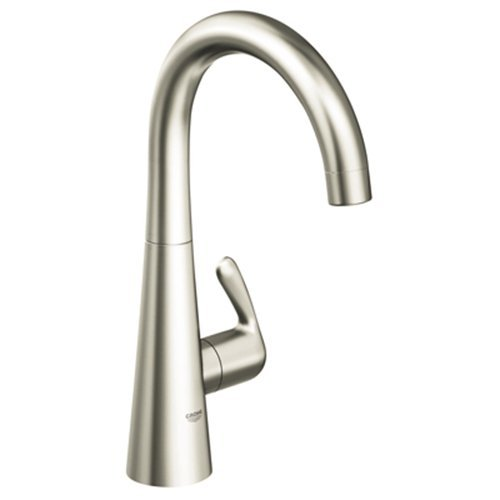 Grohe 30.026.DC0 Ladylux3 Basin/Pillar Tap Faucet - Super Steel ...