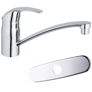 Grohe 31133001 Eurosmart Cosmopolitan Kitchen Single Handle Kitchen Faucet - Chrome