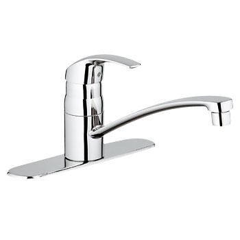 Grohe 31133.10E Eurosmart Kitchen Centerset with Swivel Spout - Chrome