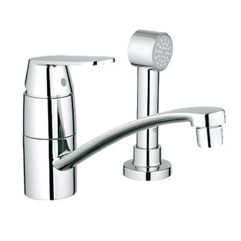Grohe 31136000 Eurosmart Single Handle Kitchen Faucet with Side spray - Chrome