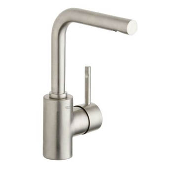 Grohe 32.137.EN0 Essence Single Lever Lavatory Centerset - Infinity Brushed Nickel
