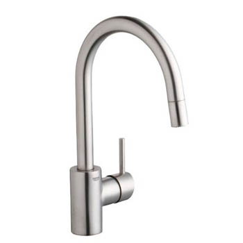 Grohe 32665DCE Concetto WaterCare Dual Spray Pull-Down Kitchen Faucet - SuperSteel