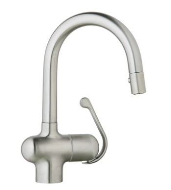 Grohe 32.256.SD0 Ladylux Pro Prep Sink Dual Spray Pullout Faucet - Stainless Steel